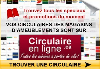 Circulaires des magasins d'ameublements en ligne