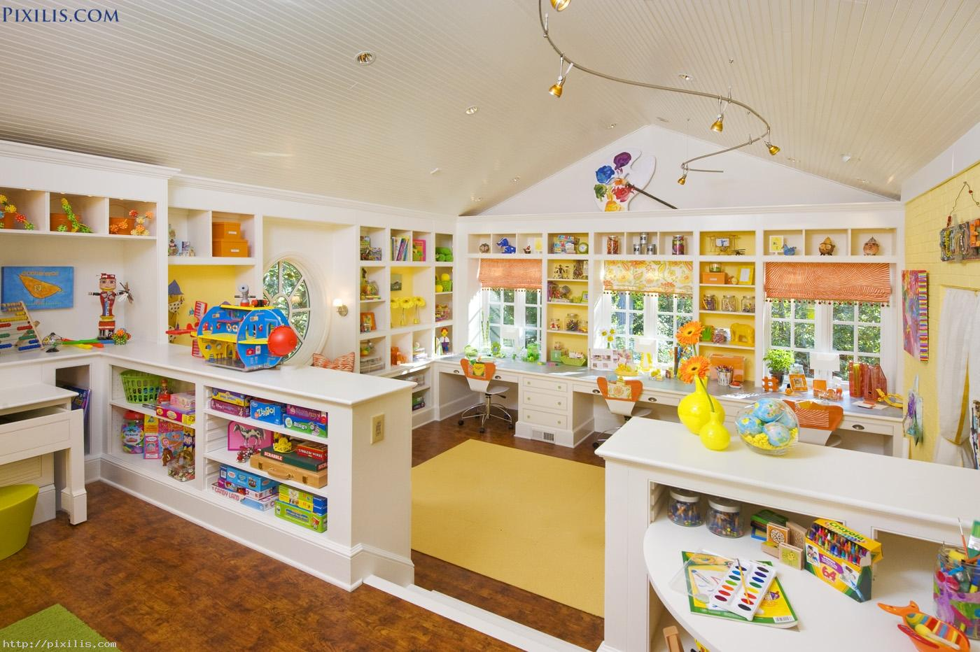 Excellent Kids Room Ideas Yellow Furniture