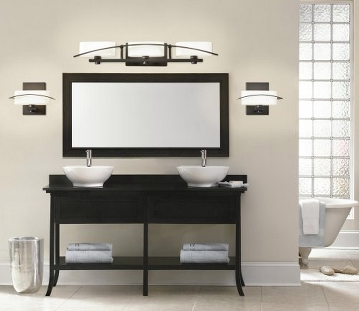 salle de bain comment choisir le bon clairage. Black Bedroom Furniture Sets. Home Design Ideas