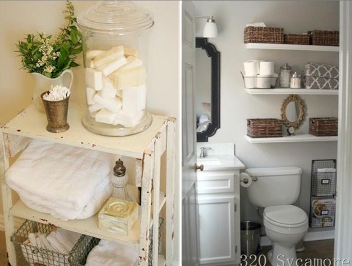 2 rangement idee decor petite salle de bain