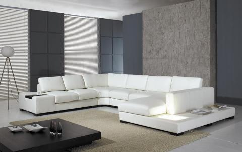 D corer son salon sofas et causeuses for Leon divan sectionnel