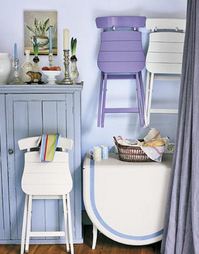Économie d'espace meubles salon