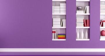 Comment décorer avec du mauve, violet, pourpre, lavande, lilas, aubergine ou prune