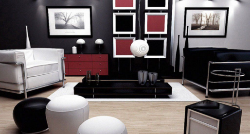 comment meubler am nager et d corer un salon. Black Bedroom Furniture Sets. Home Design Ideas