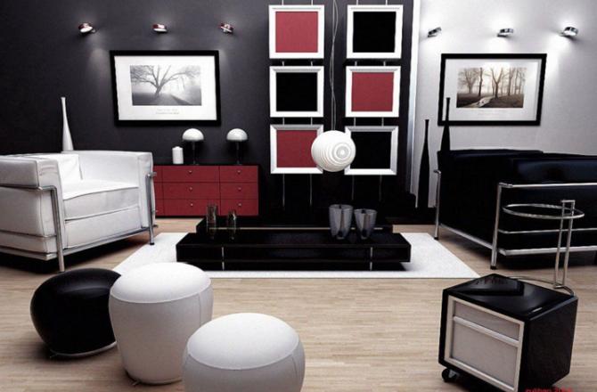 Salon: Accessoires décoratifs, oeuvres d'art et éclairage!