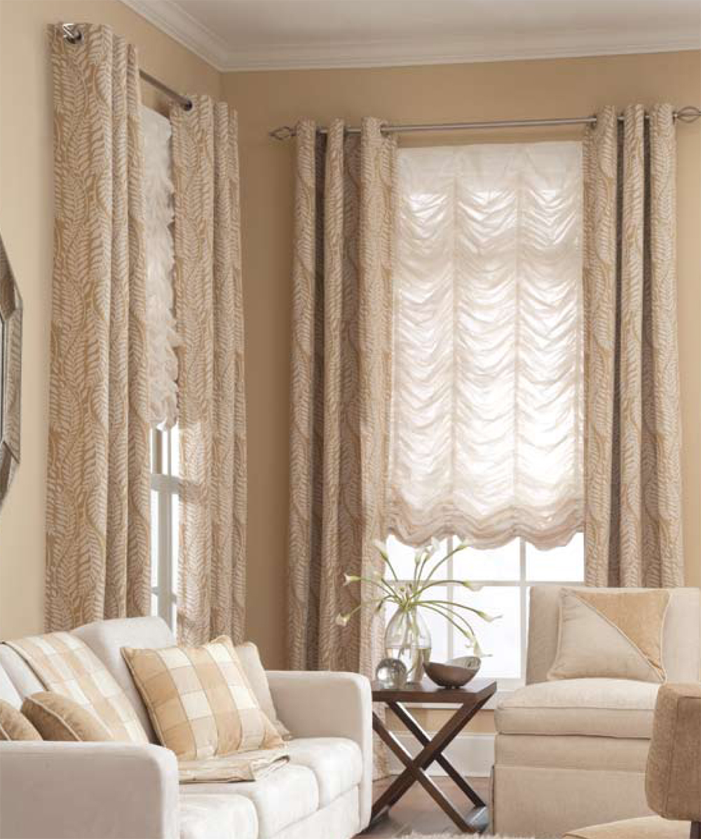 Blinds or drapes curtains transforming decor home staging for Fenetre quebec