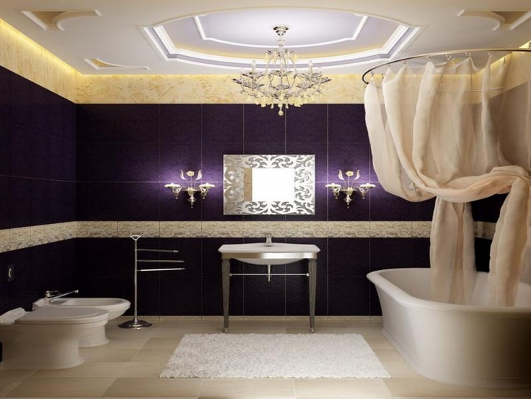 Chambre Taupe Et Prune