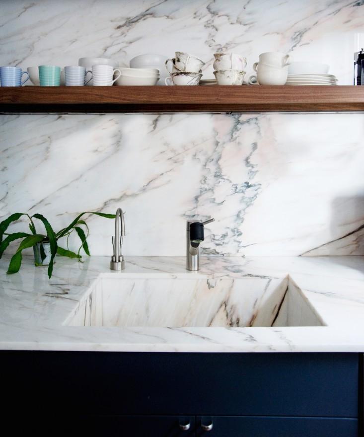 L'éternelle beauté du marbre. SOURCE: http://www.remodelista.com/