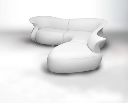 Le canapé Amphora, petit bijou en matière de design contemporain, allie avec brio design et confort pour satisfaire tous les sens. SOURCE : http://productfind.interiordesign.net/
