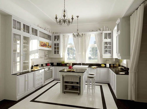 comment am nager et d corer une cuisine. Black Bedroom Furniture Sets. Home Design Ideas