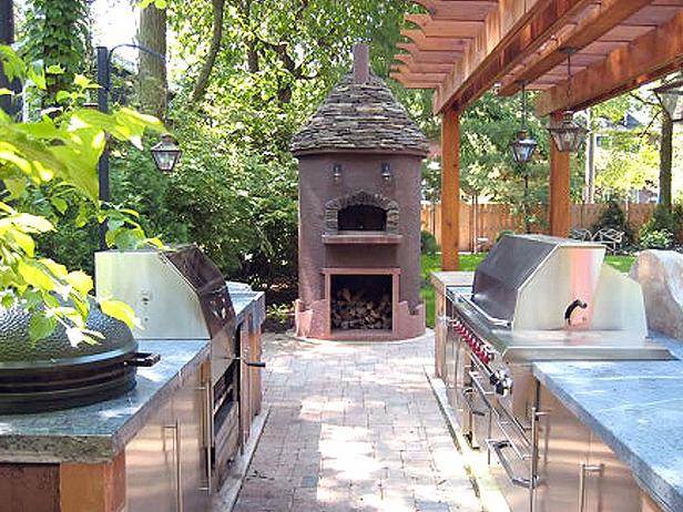 Comment meubler am nager et d corer un espace ext rieur for Dallas outdoor kitchen designs