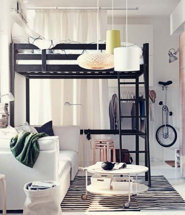 comment meubler am nager et d corer de petits espaces. Black Bedroom Furniture Sets. Home Design Ideas