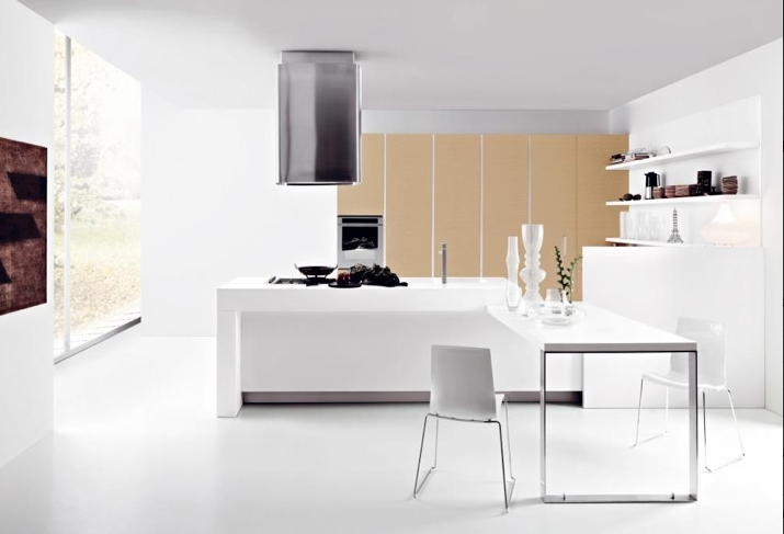 Cuisine comment choisir les bonnes armoires for Minimaliste cuisine