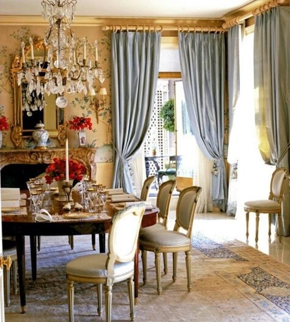 23 Elegant Traditional Dining Room Design Ideas: Salle à Manger: Comment Choisir Le Bon Habillage De