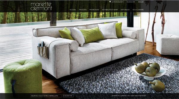 Mariette clermont meubles contemporains modernes for Chambre a coucher kijiji montreal
