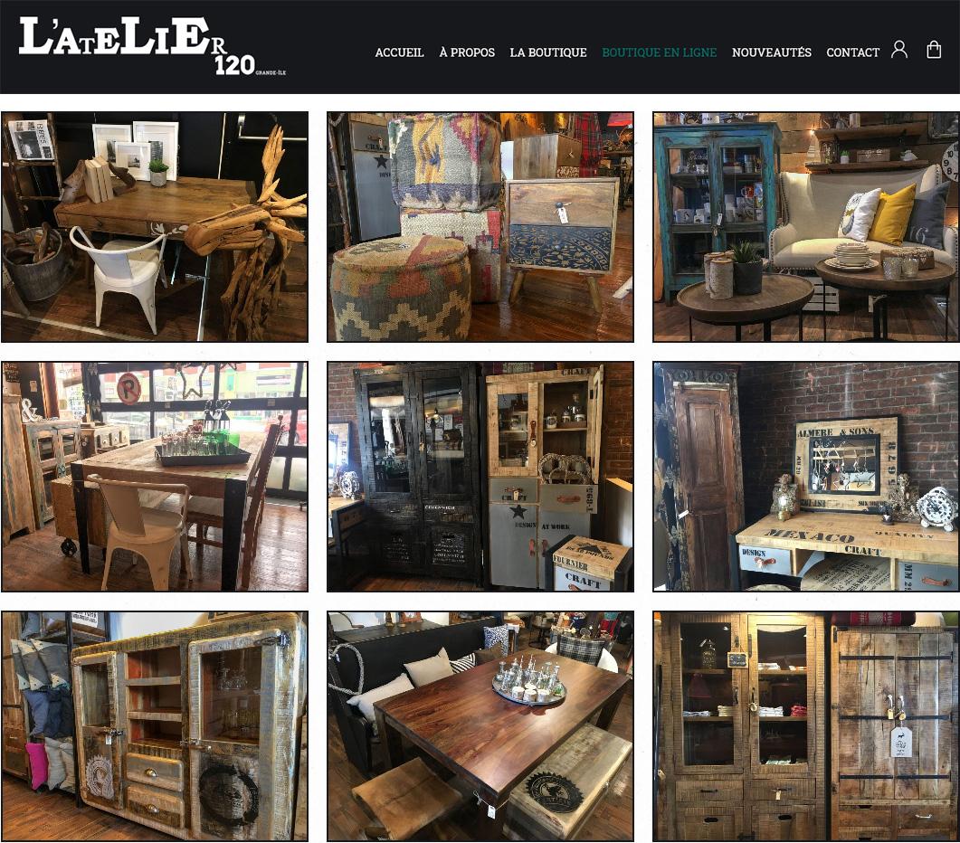 Boutique Artisanale L'Atelier 120 Grande-Île