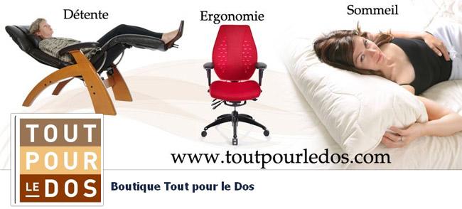 tout pour le dos matelas fauteuils et produit d 39 ergonomie. Black Bedroom Furniture Sets. Home Design Ideas