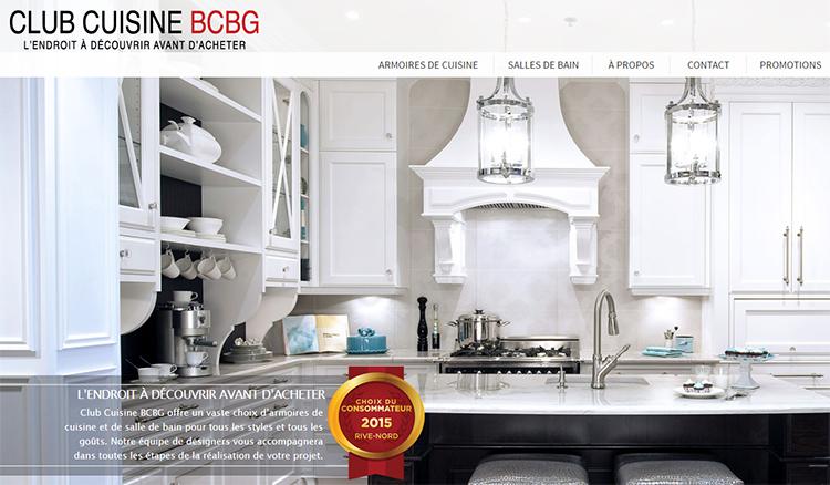 Club cuisine bcbg for Concevoir cuisine en ligne