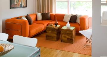 Comment décorer avec du orange