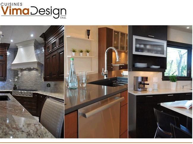 Cuisines vima design for Conception cuisine ligne