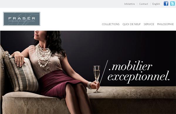 Fraser mobiliers haut de gamme for Reputation meubles concept