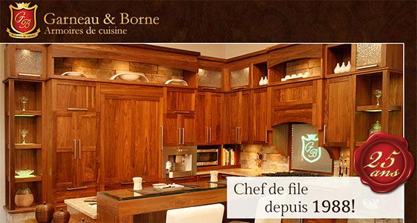 Garneau & Borne Armoires de Cuisine en ligne