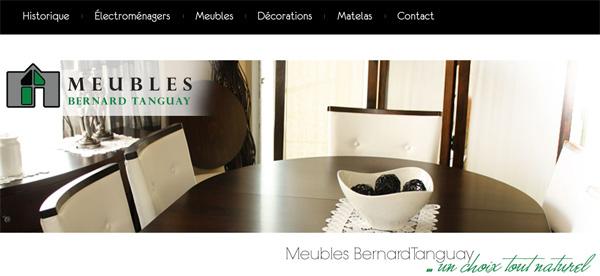 Meubles bernard tanguay - Ameublement en ligne ...