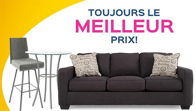 Meubles davantage for Meubles a meilleur prix chateauguay