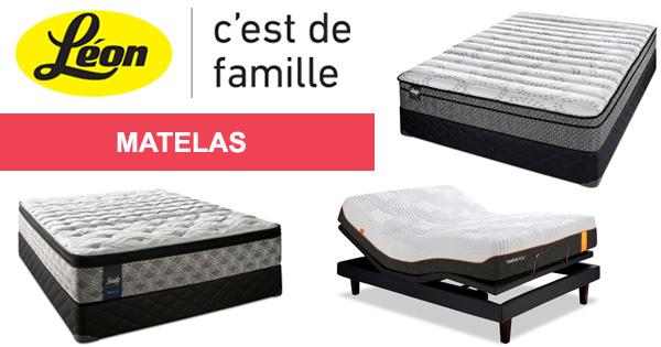 Meubles Léon - Matelas - fb