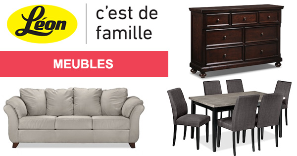 chez leon meuble montreal. Black Bedroom Furniture Sets. Home Design Ideas