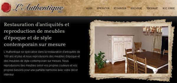 Meubles l 39 authentique reproduction antiques for Meuble en ligne quebec
