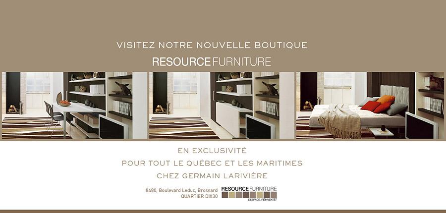 Nouvelle Boutique Germain Lariviere Resource Furniture