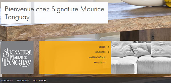 Signature Maurice Tanguay en Ligne