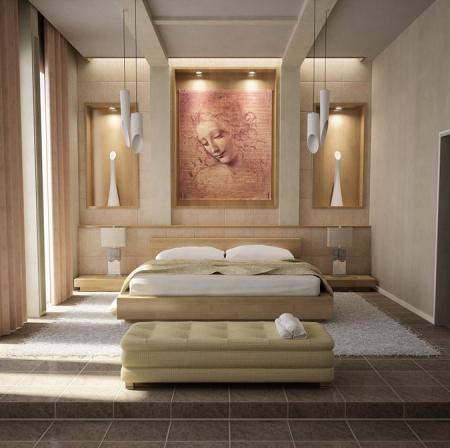 Quel bonheur de retrouver chaque jour, chaque nuit son havre de paix bien personnel à la maison. La chambre à coucher: un lieu sacré.
