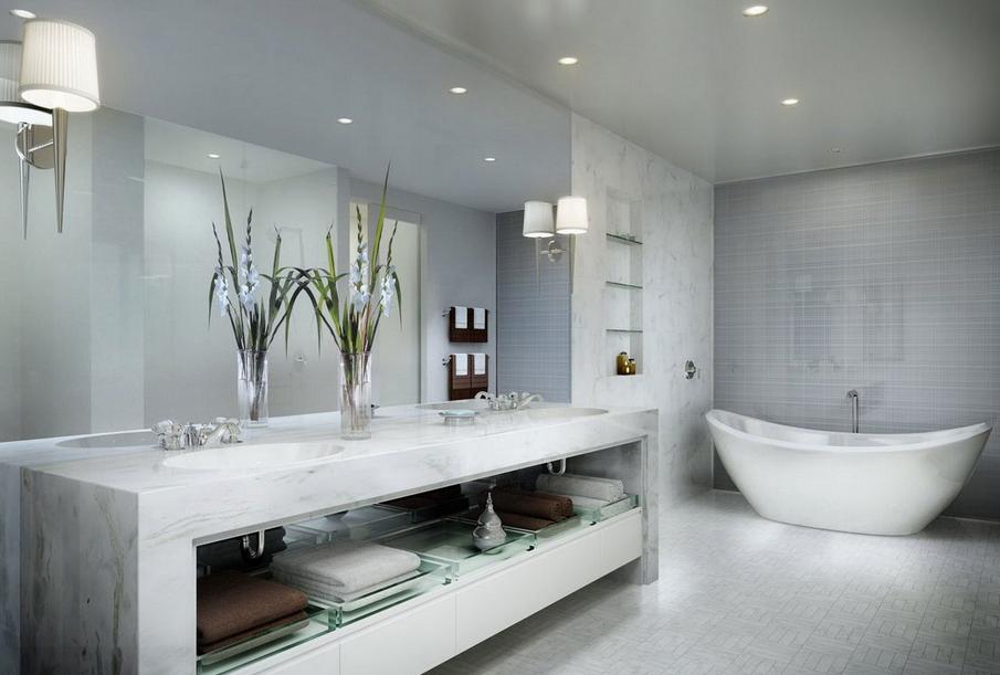 Salle de bain: Comment choisir le bon carrelage pour les murs et ...