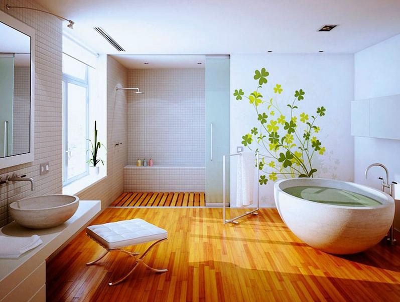 Salle De Bain Comment Choisir Le Bon Carrelage Pour Les Murs Et - Plancher bois salle de bain