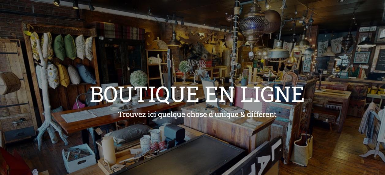 Boutique en Ligne L'Atelier