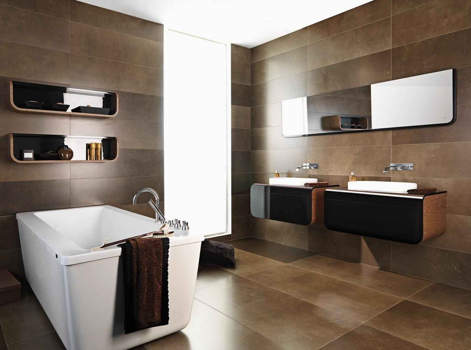 salle de bain comment choisir le bon carrelage pour les murs et planchers. Black Bedroom Furniture Sets. Home Design Ideas