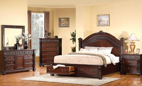 comment donner un style traditionnel ou old world votre. Black Bedroom Furniture Sets. Home Design Ideas