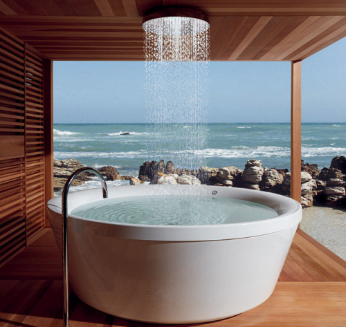 La salle de bain: le lieu par excellence pour s'accorder du temps de qualité en toute intimité.