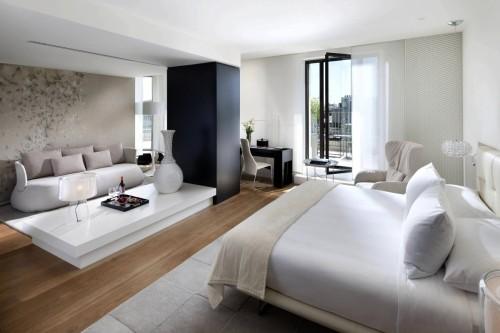 Vous avez une chambre hyper spacieuse? Quelle chance! Et voici quelques idées pour bien la meubler!