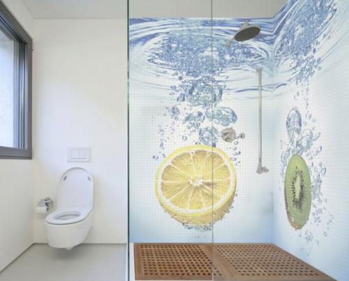 Il suffit parfois de peu pour donner un air extraordinaire à une salle de bain!