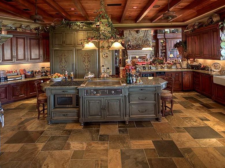 Comment donner un style m diterran en votre d coration for Kitchen designs old world style