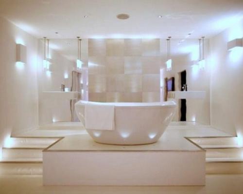 salle de bain comment choisir le bon clairage. Black Bedroom Furniture Sets. Home Design Ideas