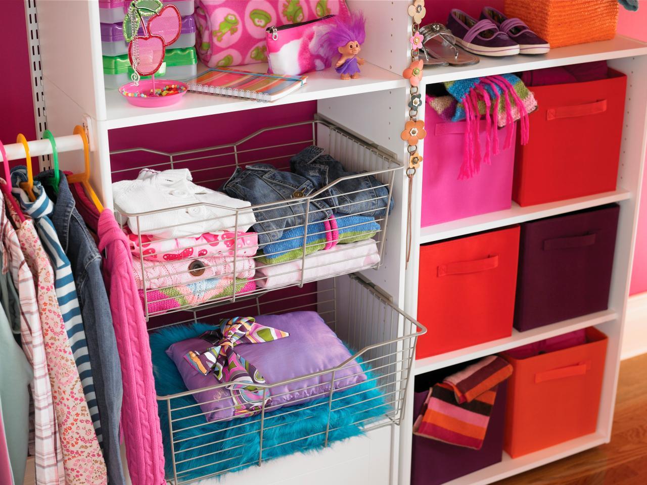 Rangement walk in garde robe unit murale armoire - Organiser sa maison rangement ...