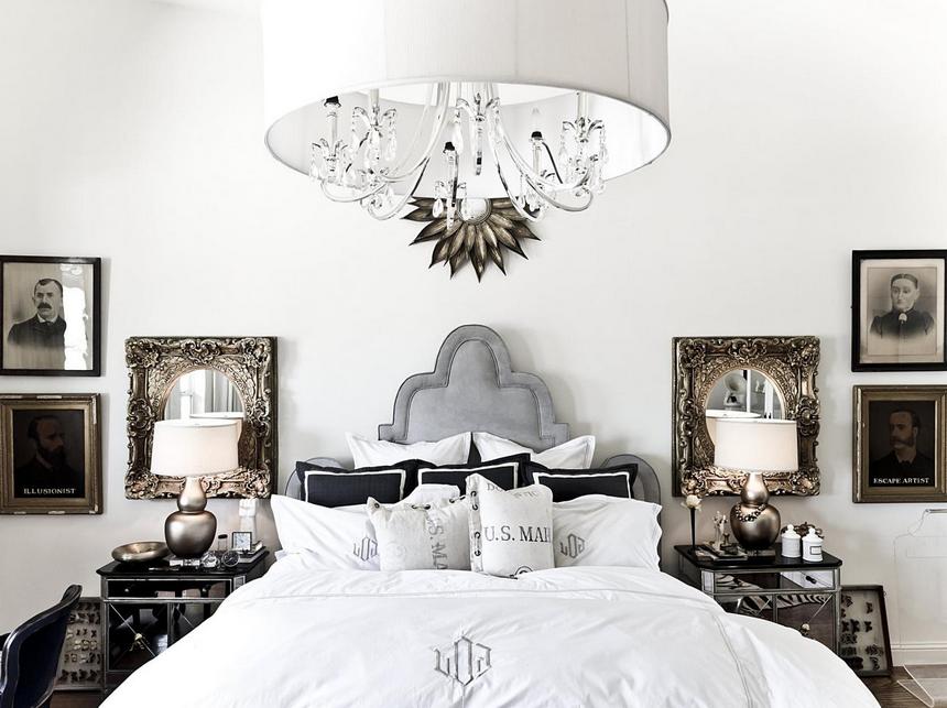 Supérieur Comment Disposer Les Meubles Dans Une Chambre #7: Harmonie-et-symetrie-accessoires-chambre-a-coucher-meubles-