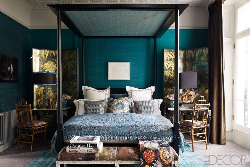 Comment meubler am nager et d corer une chambre coucher - Comment decorer un grand mur ...