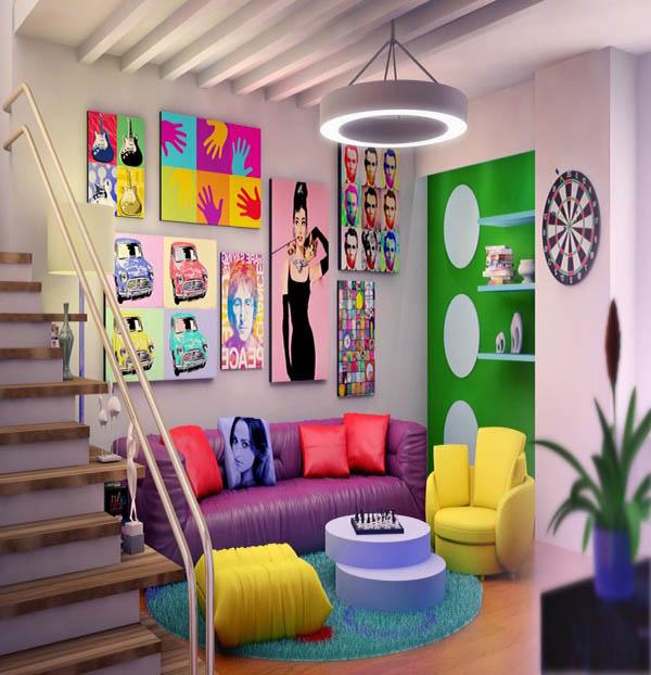 hommage_warhol_pop_art_style_decor_decoration_post-moderne_punk_ameublement_quebec_canada