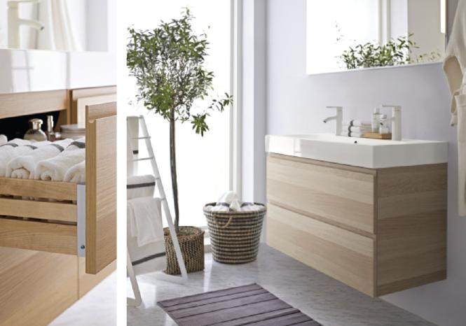 Salle de bain comment choisir les bonnes armoires for Installation salle de bain ikea