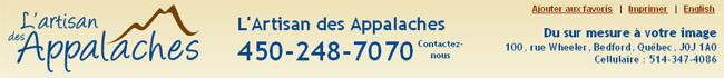 l'Artisan des Appalaches Bedford en ligne